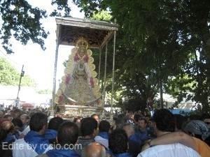 Un momento de la procesión celebrada en pasadas ediciones