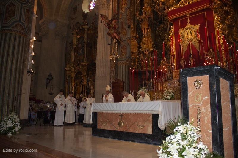Bendición del Sr. Obispo