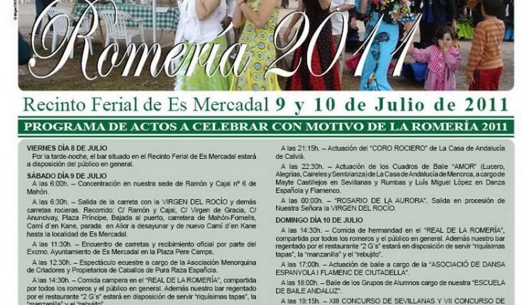 Casa de Andalucía en Menorca – Romería en Honor de Ntra. Sra. del Rocío