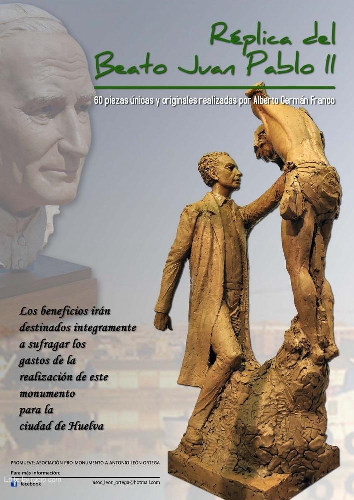 Monumento a León Ortega en Huelva