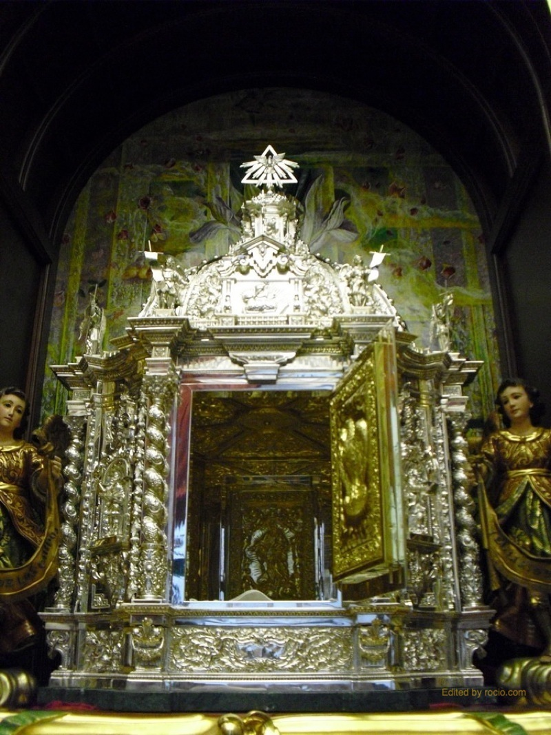 El Sagrario de la Capilla Sacramental