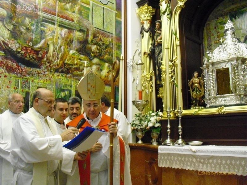 Bendición de la Capilla Sacramental
