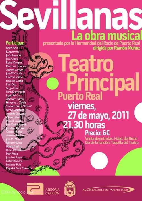 El próximo viernes 8 de julio se presentará de nuevo en el Teatro Principal de Puerto Real