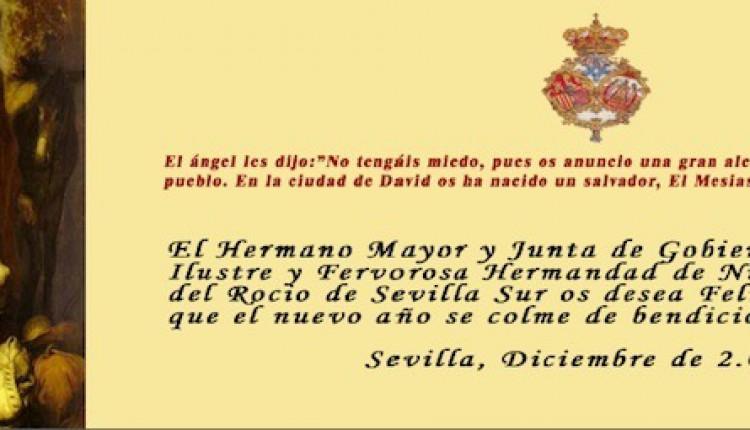 Hermandad de Sevilla Sur – II Zambombá con fines benéficos