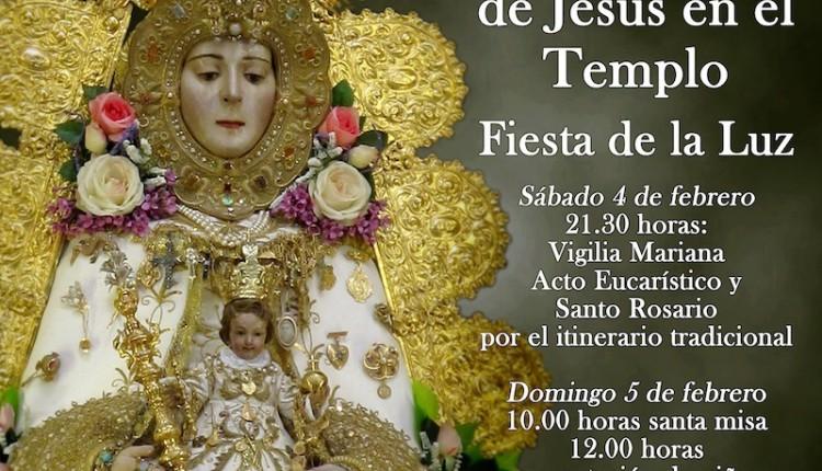 Actos de la Candelaria o Fiesta de la Luz 2012