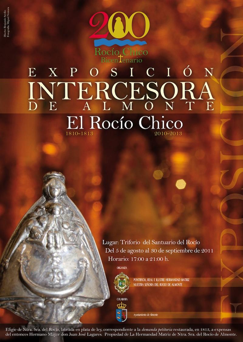 Cartel de la exposición en Almonte