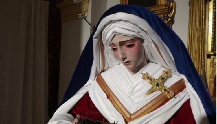 Hermandad de Villamanrique – Acompañó a la Hermandad del Santísimo Cristo de la Vera+Cruz, María Santísima del Mayor Dolor y San Juan Evangelista