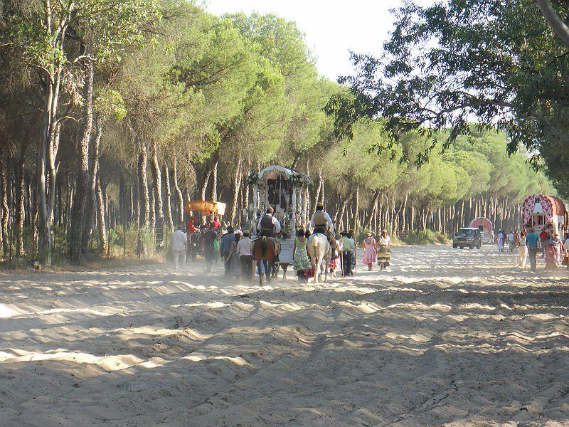 La Hdad. de Ronda en la Raya (Foto de José Avilés)