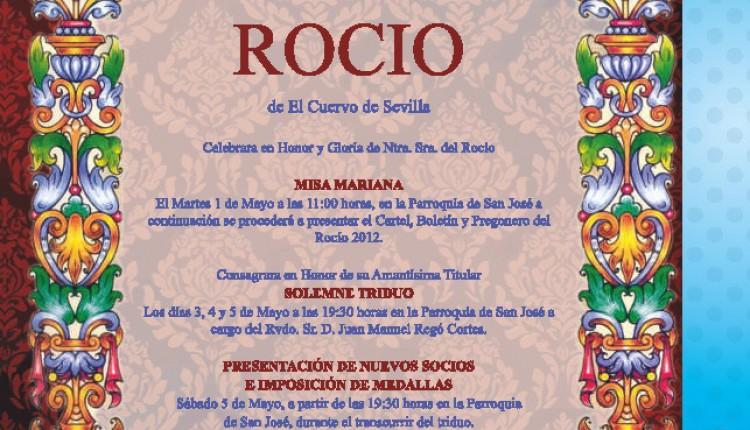 Agrupacion Rociera de El Cuervo – Solemne Triduo