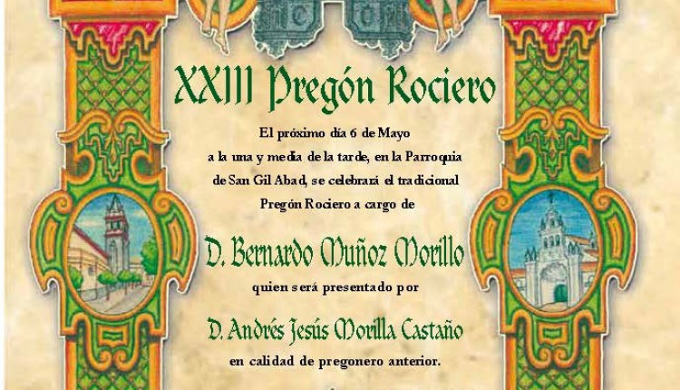 Hermandad del Rocío Macarena – Cabildo General y XXIII Pregón Rociero