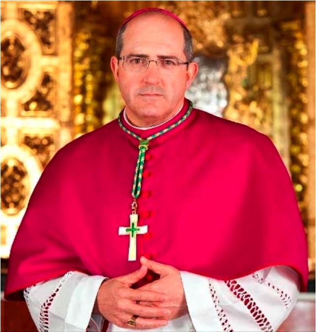Excmo. y Rvdmo. Sr. D. Santiago Gómez Sierra, Obispo Titular de Vergi y Auxiliar de la Archidiócesis de  Sevilla
