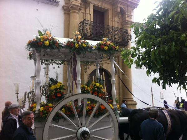 En la Plaza de Fray Diego