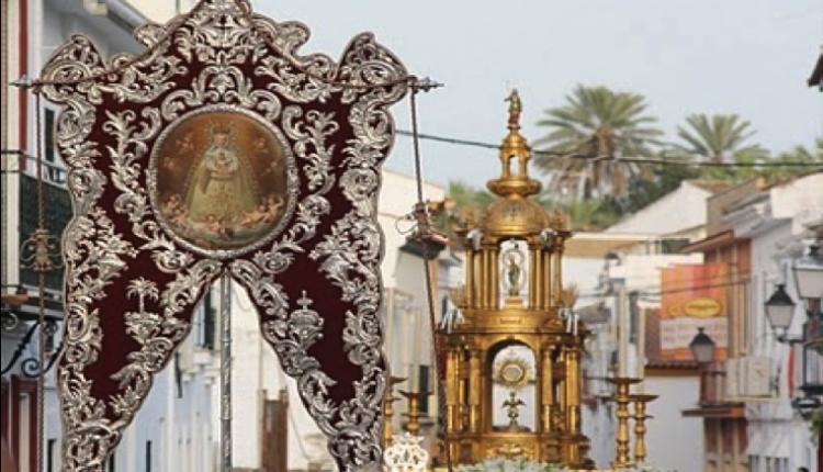 LA PRIMERA Y MÁS ANTIGUA HERMANDAD DEL ROCÍO DE VILLAMANRIQUE ACOMPAÑARÁ AL SANTÍSIMO SACRAMENTO EN LA PROCESIÓN DEL CORPUS CHRISTI.