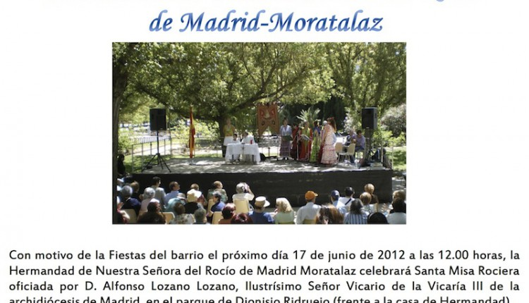 Hermandad de Moratalaz – Santa Misa