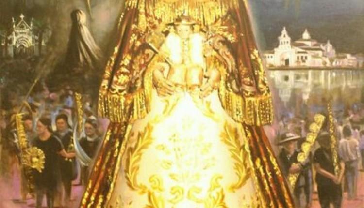 Cartel del Traslado de la Virgen 2012