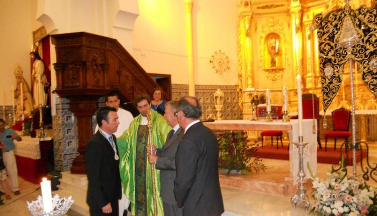 Hermandad de Isla Cristina – Misa de Acción de Gracias y Toma de Posesión del nuevo Hno. Mayor