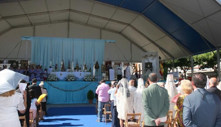 Celebrada la Misa del XX Aniversario de la Hdad de Torrejón de Ardoz y bendición del Retablo para el Simpecado