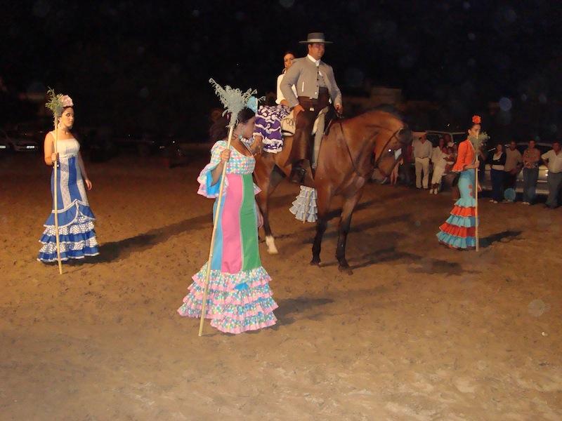 Fiesta rociera celebrada el pasado año