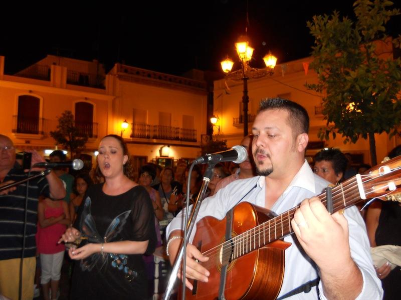 Jesús Perea y Elena, el dúo