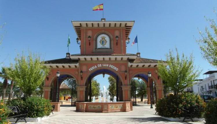El exorno del Paseo para la Venida de la Virgen del Rocío a Almonte se inaugura este domingo