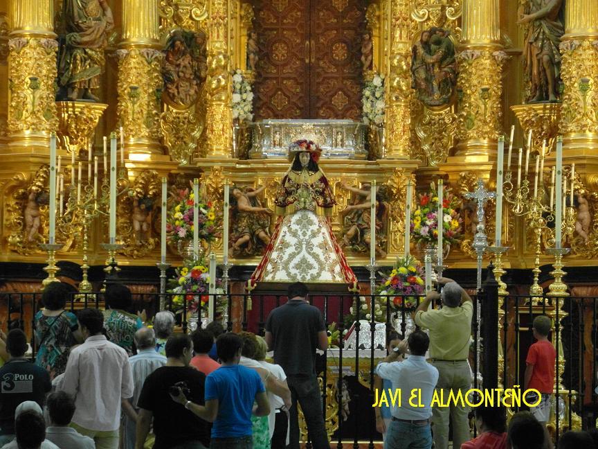 La Virgen de Pastora en 2012