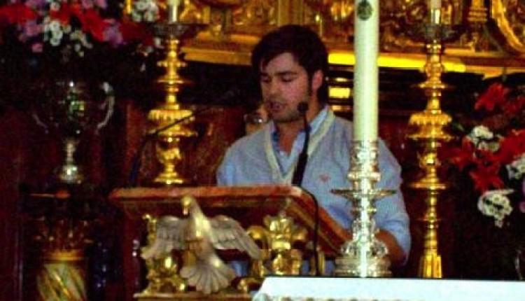 Carlos Bellido García designado como pregonero de la Hermandad del Rocío de Osuna 2013