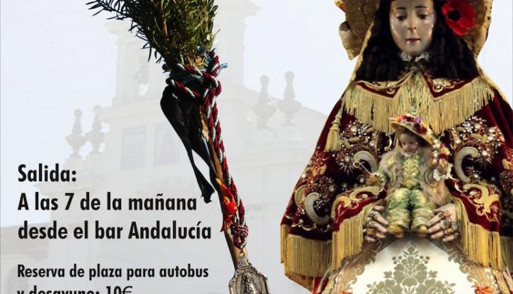 Agrupación de El Cuervo – Peregrinación a pie desde la Ermita del Rocio hasta la Parroquia de Almonte