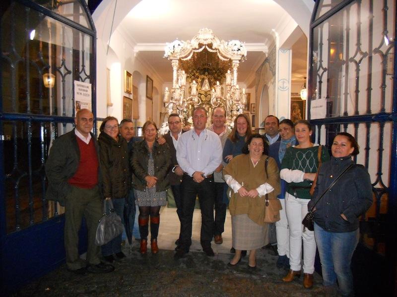 La candidatura elegida por los hermanos teniendo al frente al que será su Presidente Pedro Jesús Álvarez.