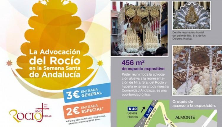 MAGNA EXPOSICIÓN SOBRE EL ROCIO EN LA SEMANA SANTA DE ANDALUCIA.