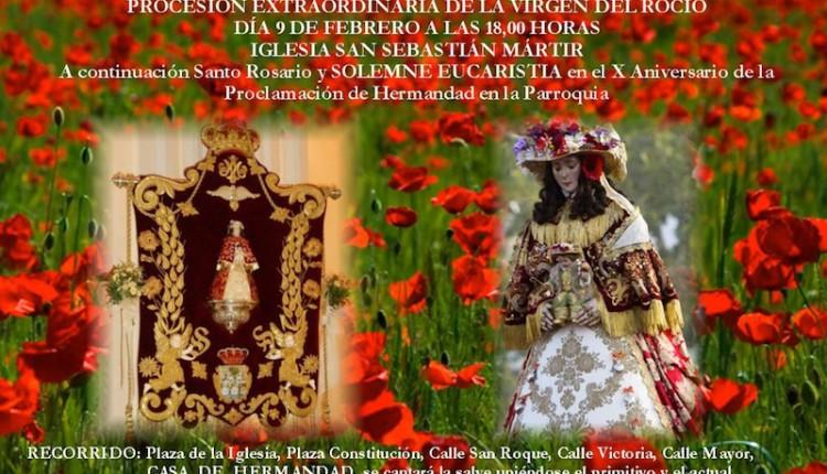 Hermandad de San Sebastián de los Reyes – Procesión extraordinaria por las calles de su feligresía