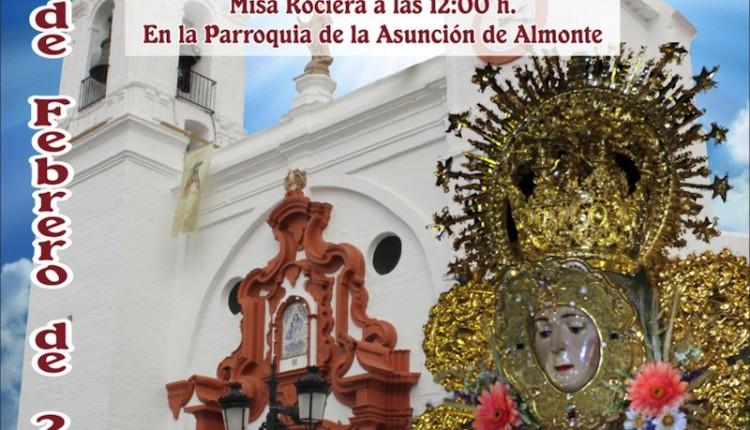 Agrupación Rociera de El Cuervo – Misa en la Parroquia de la Asuncion de Almonte