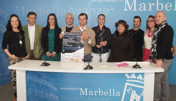 El Palacio de Congresos acogerá el desfile de la Hermandad del Rocío de Marbella -Un paseo por la moda-