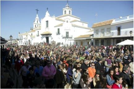Peregrinación de Villamanrrique en 2012