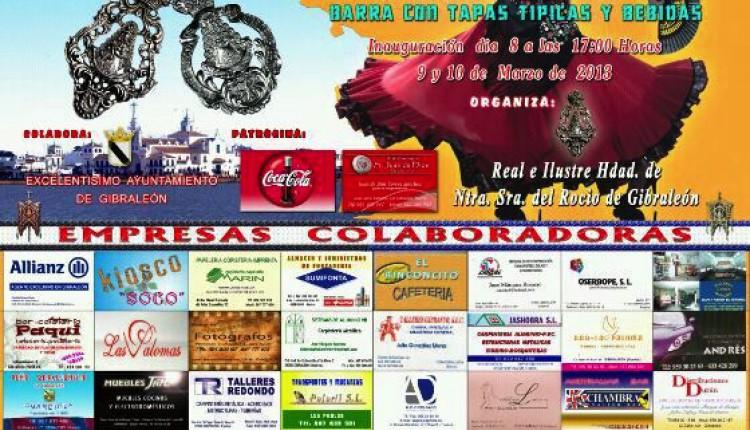 Hermandad de Gibraleón – IV Muestra Rociera y II Concurso de Reatas