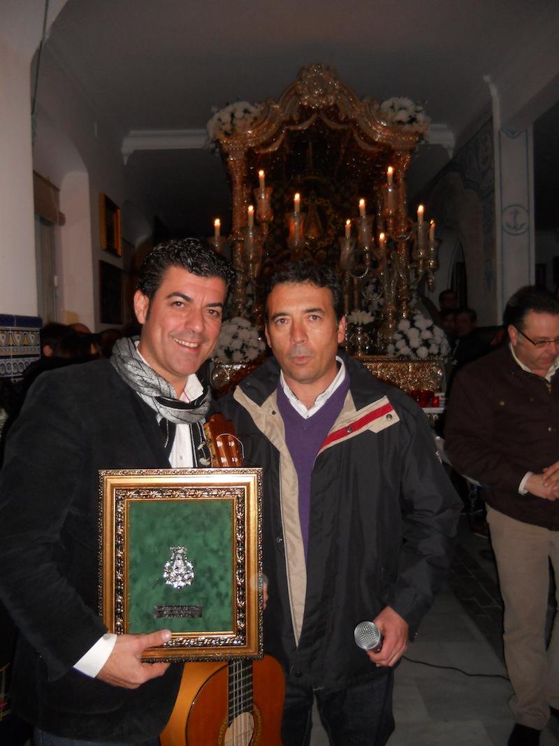 Con el Hermano Mayor, Juan Vázquez Malavé