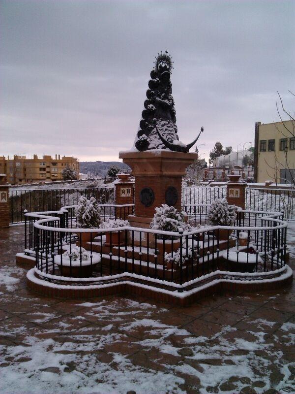Monumento a Ntra. Sra. en Ronda (Foto A. Martín)