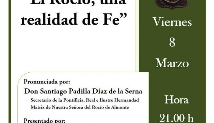 Hermandad de Dos Hermanas – Conferencia de Santiago Padilla Díaz de la Serna