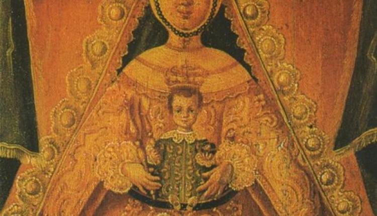 La pintura más antigua de la Virgen del Rocío.