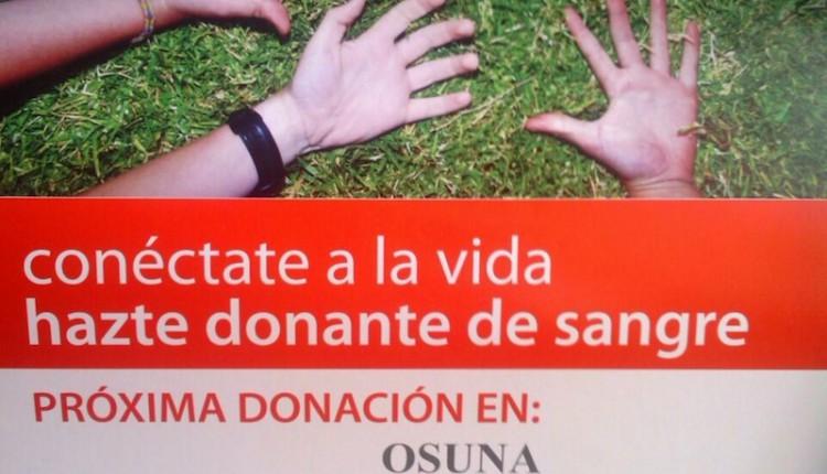 Donación de sangre organizada por la Hermandad del Rocío de Osuna