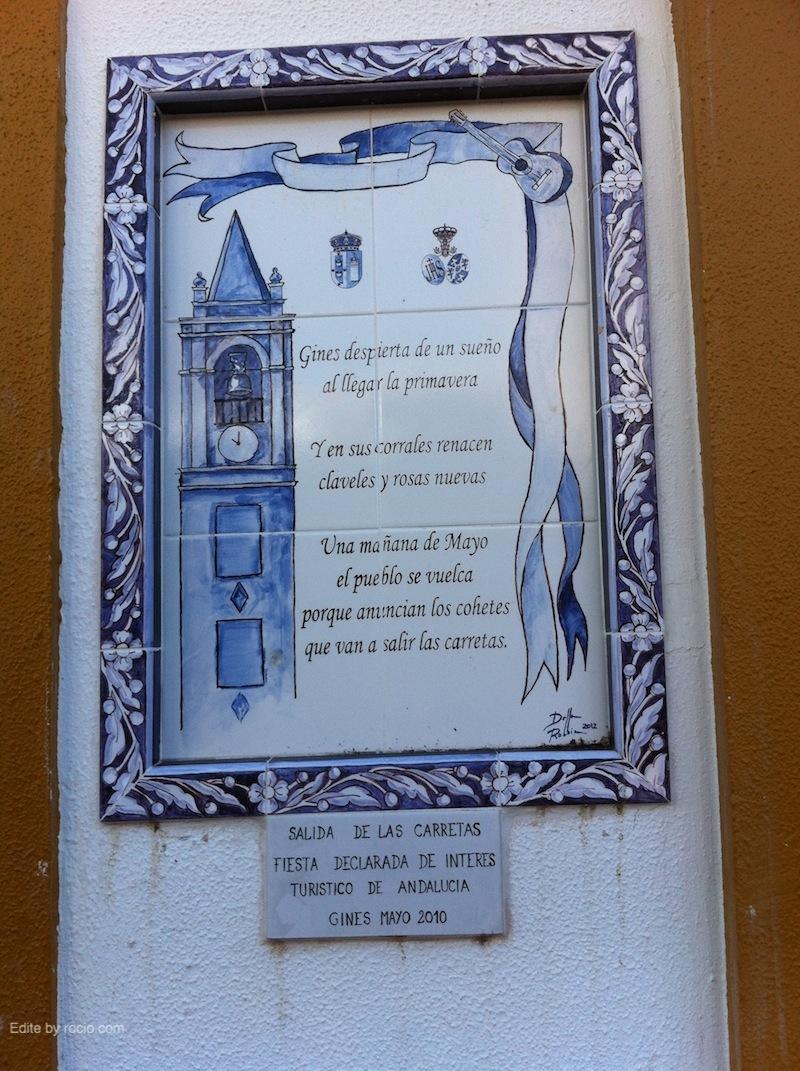 Azulejo conmemorativo