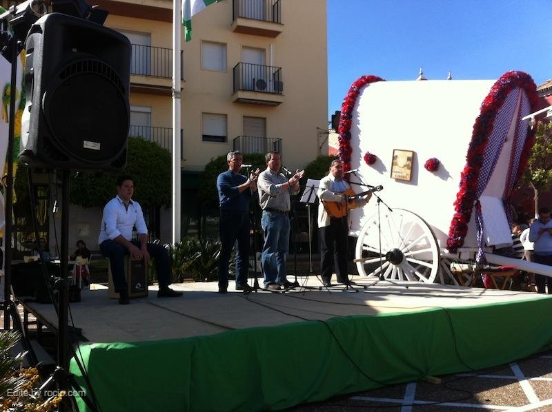 Actuación del grupo Cañuelo de Gélves