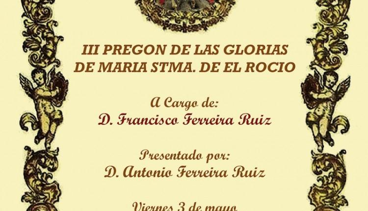 Agrupación Parroquial de El Cuervo – III Pregón