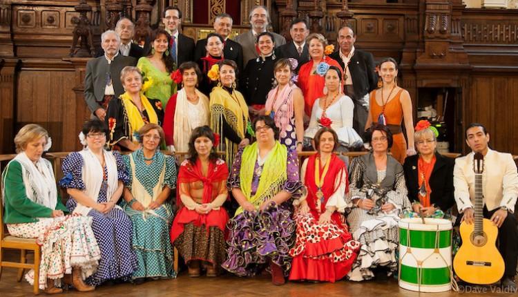 Hermandad de Bruselas – Actuación del Coro en la Feria de de Abril organizada por SHAPE