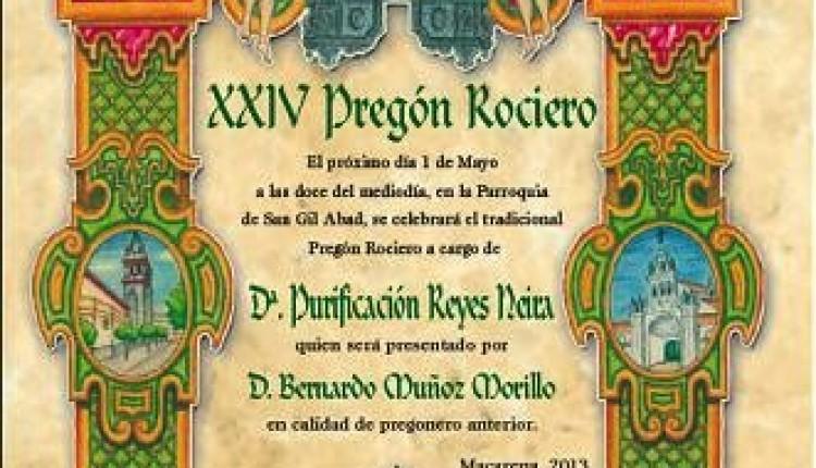 Hermandad del Rocío Sevilla-Macarena – Triduo y Pregón