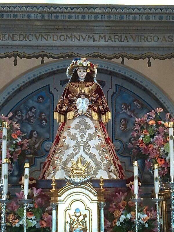 La Virgen Del Rocío Ya Preparada Para Su Traslado Rocio Com