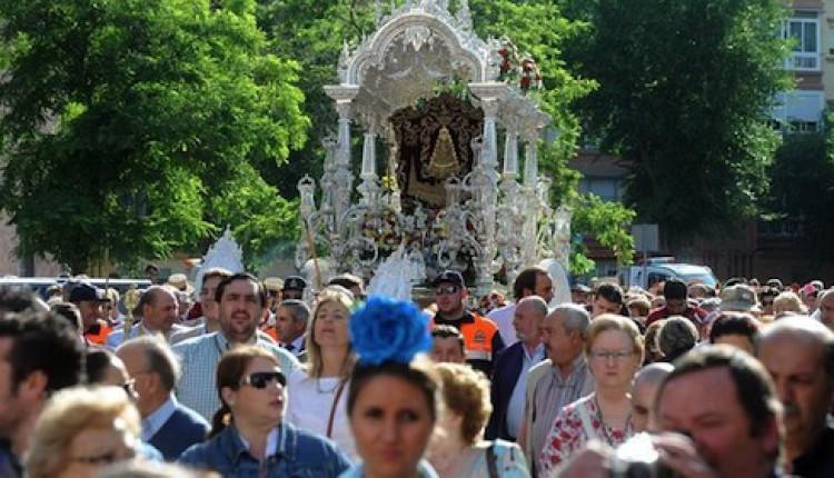 Hermandades que peregrinan a la Aldea del Rocío desde la ciudad de Sevilla