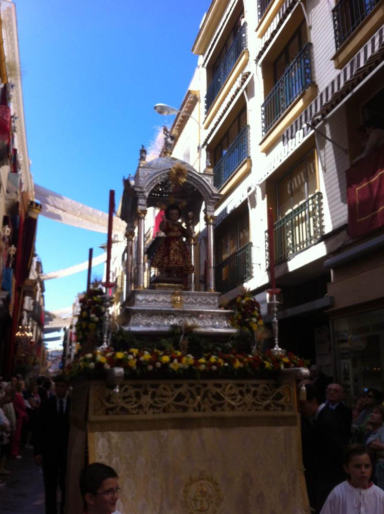 Templete del Niño Jesús de la Sacramental del Sagrario