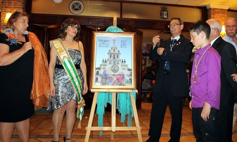 El Cartel del Rocio 2013, ya descubierto, la autora Pilar Tafalla, Explicando el Cartel