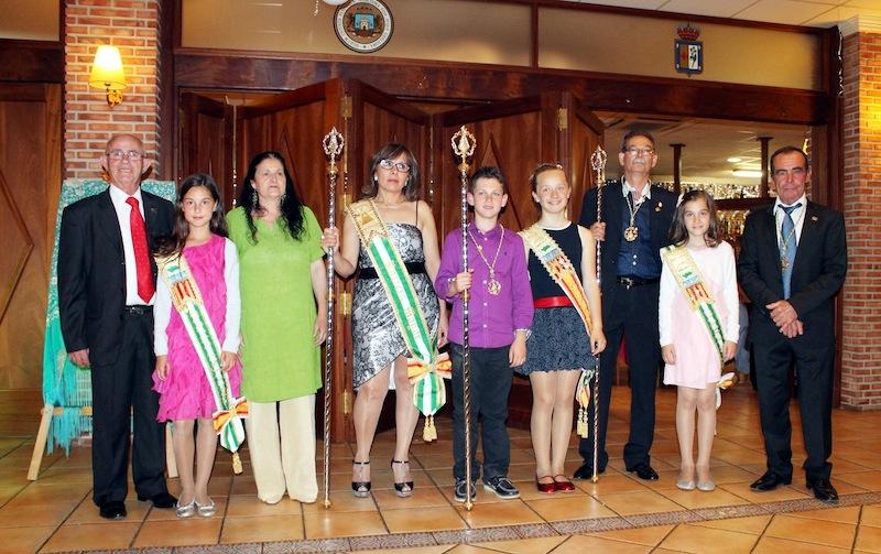 Ines, Alexis y Thais, ya proclamados Rocieros Mayores 2013