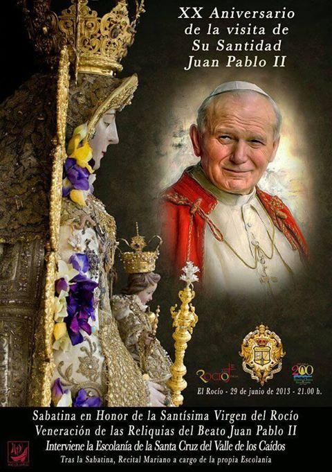 Cartel Sabatina a celebrar el 29 de junio